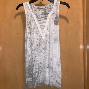 American Eagle Splattered Tank